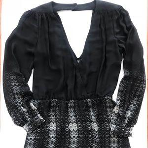 PARKER BARNEYS NY black Sheath dress size Large